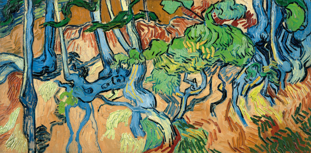 Tree Roots, Vincent Van Gogh