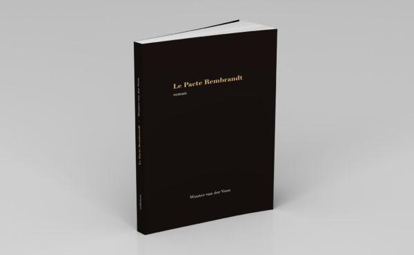 Livre papier Le Pacte Rembrandt, 3D