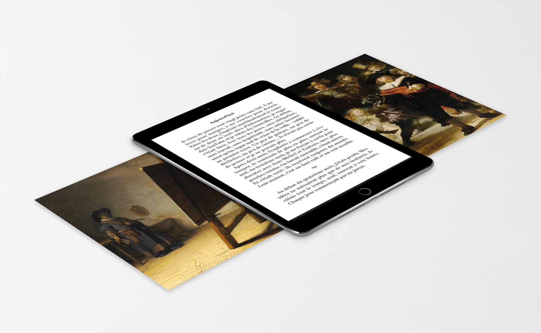 Livre numérique Le Pacte Rembrandt