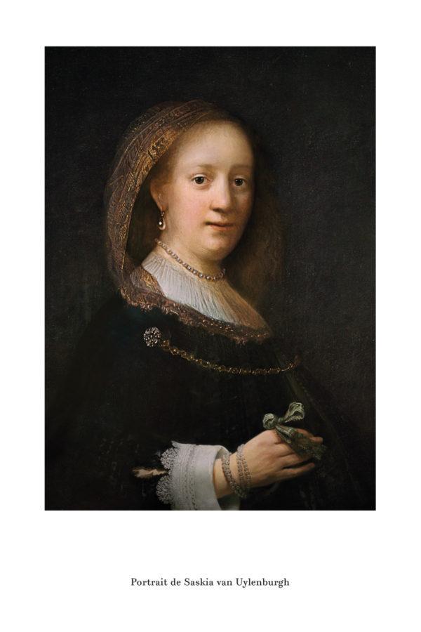 Portrait de Saskia van Uylenburgh